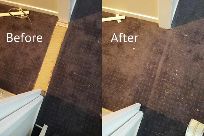 Carpet Patching Blind Bight