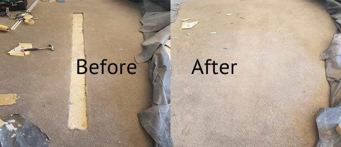 Commercial Carpet Repairing Services Undera